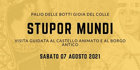 Stupor Mundi tickets
