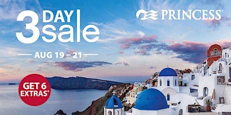 Princess 2021 3-Day Sale Preview Presentation tickets