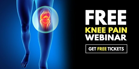 Free Webinar: Non-Surgical Knee Pain Relief Event - Cornelius, NC tickets