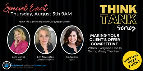 Making Your Client's Offer Competitive  Without Giving Away the Farm! tickets