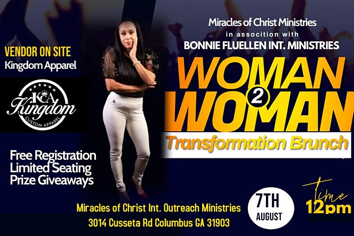 Woman to Woman Transformation Brunch image