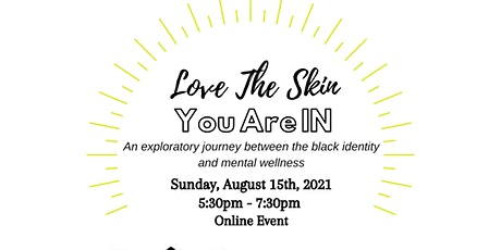 Self Love and Positive Identity Tickets