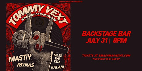 Tommy Vext of Bad Wolves tickets