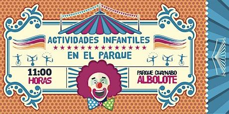 Actividades Infantiles en el Parque entradas