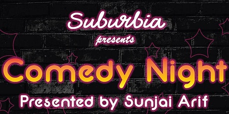 Suburbia comedy night tickets
