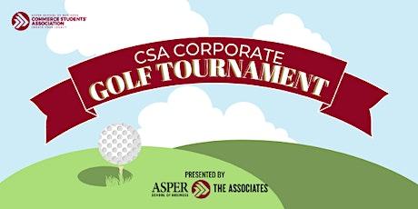 Corporate Golf Tournament tickets