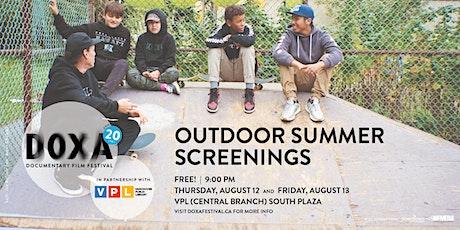 DOXA 2021 Outdoor Summer Screenings tickets
