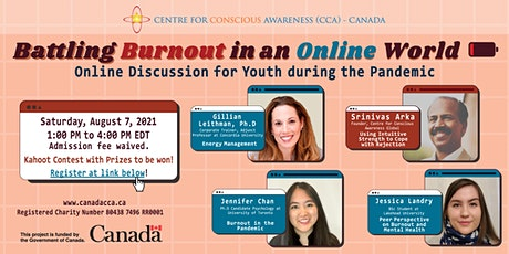 Youth Event - Battling Burnout in an Online World tickets