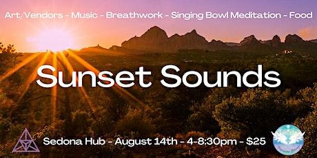 Sunset Sounds - Music, Art, Meditation, Breathwork tickets