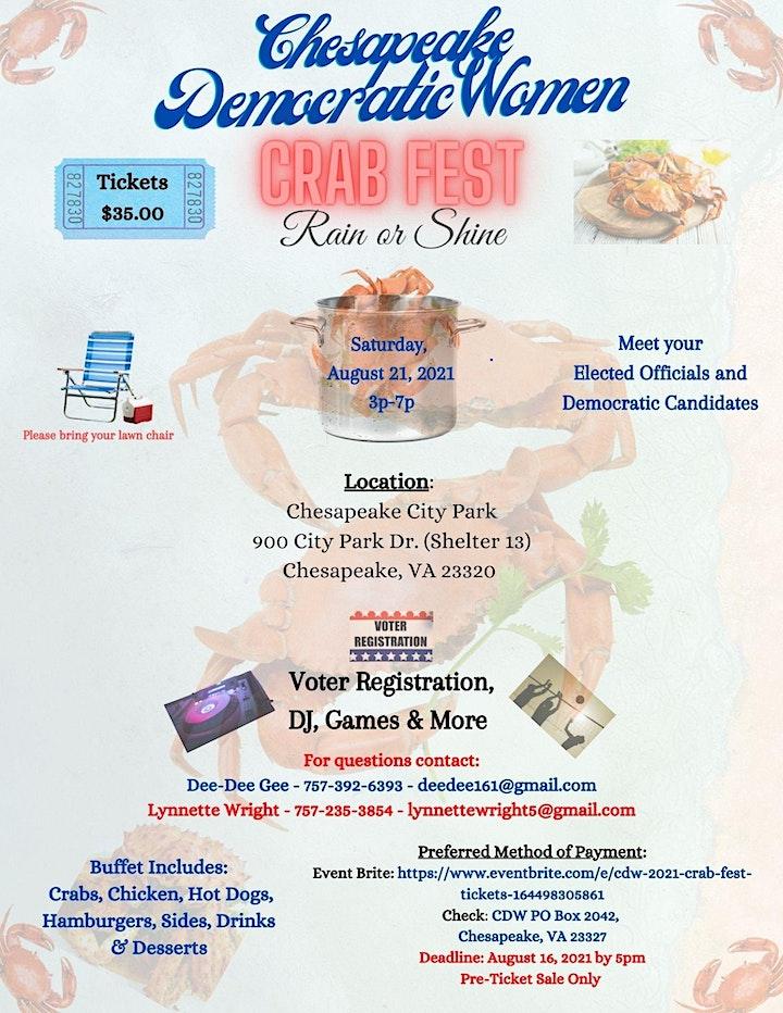 CDW 2021 Crab FEST image