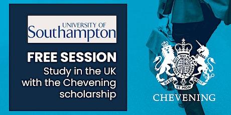 Estudia tu maestría en la Universidad de Southampton con la beca Chevening entradas