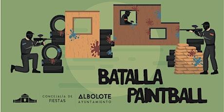 Batalla Paintball Fiestas Albolote 2021 entradas