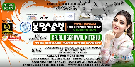 UDAAN 2021 | THE 75TH INDEPENDENCE DAY CELEBRATIONS OF INDIA tickets