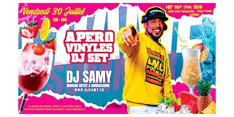 L'Apéro Hip Hop Vinyles avec DJ Samy billets