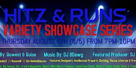 HITZ & RUNS Showcase Series (MA Edition Networking Event) tickets