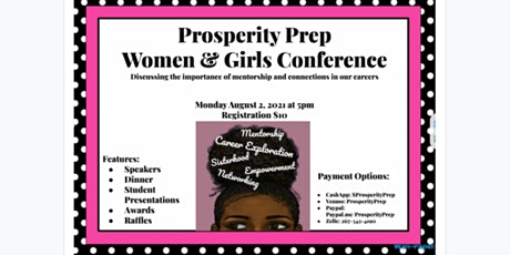 Prosperity Prep Conference for Women and Girls tickets