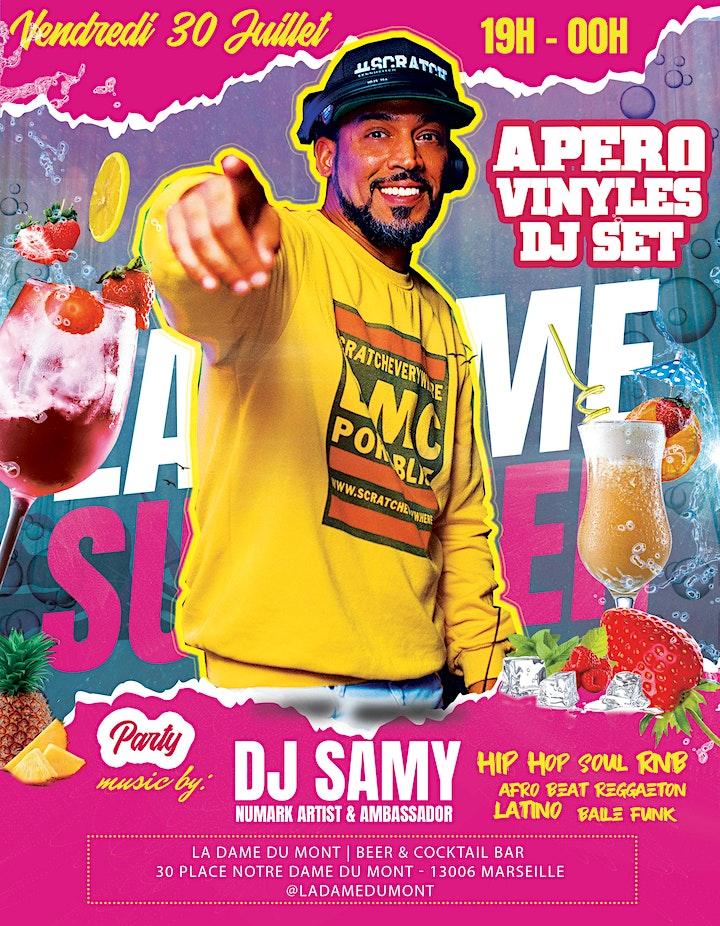 Image pour L'Apéro Hip Hop Vinyles avec DJ Samy