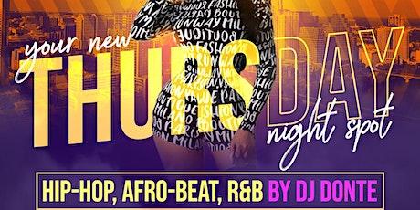 Rawshe Thursday: Hip-Hop, Afro-Beat, R&B | 8/12 tickets
