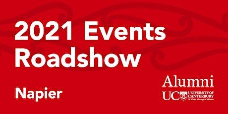 University of Canterbury alumni function in Napier | 11 Nov 2021 tickets