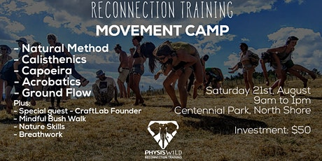 First NZ Movement Camp tickets