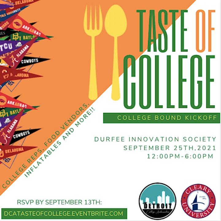 Taste of College, College Bound Kickoff image