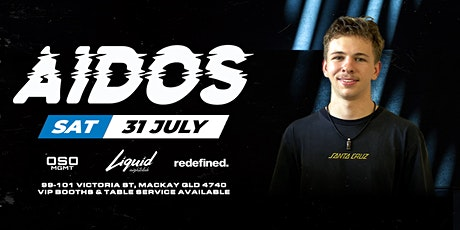 Liquid Presents - AIDOS tickets
