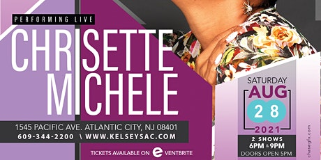 Chrisette Michele  Live  @ Kelsey's   Two Shows  6 pm &  9 pm tickets
