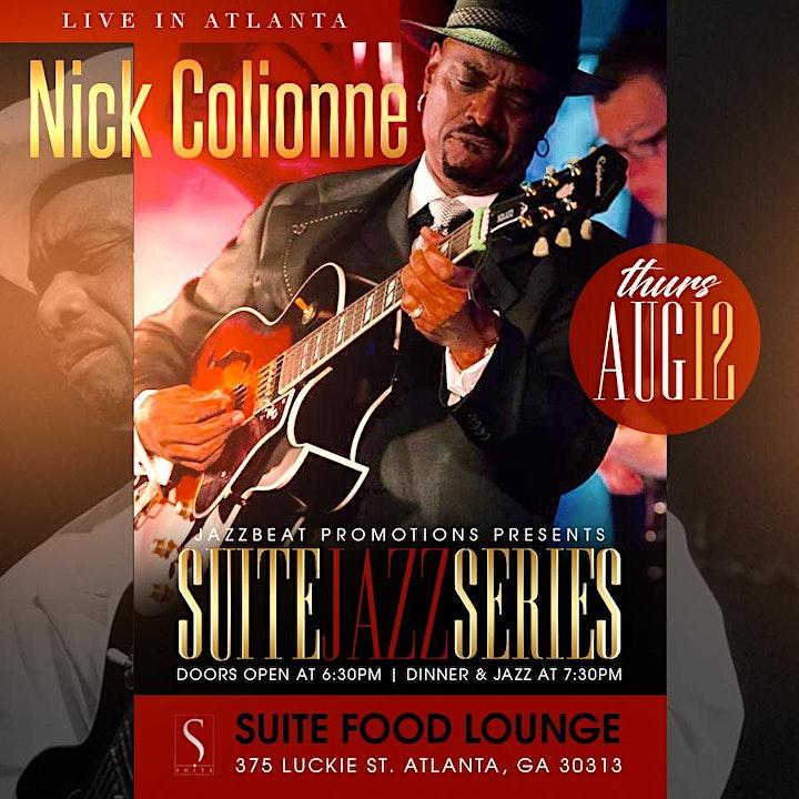 Nick Colionne  Live at Suite image