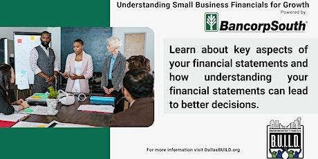 Understanding Small Business Financials for Growth tickets