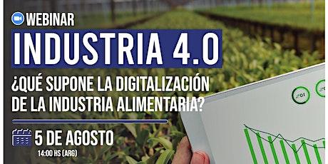 Industria 4.0 - La digitalización en las industrias alimenticias entradas