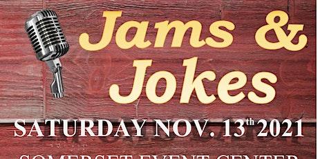 Jams and Jokes tickets