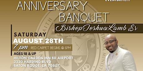 8th Year Pastor's Banquet Honoring Bishop Joshua Lamb Sr tickets