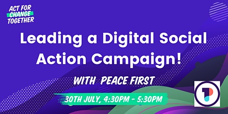 Leading a Digital Social Action Campaign tickets