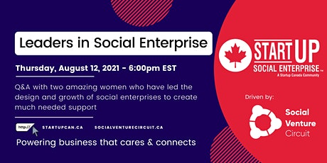 Q&A with Leaders in Social Enterprise tickets