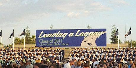Clovis East Class of 2011 - 10-Year Reunion tickets