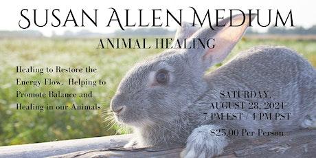 Animal Healing with Susan Allen Medium tickets