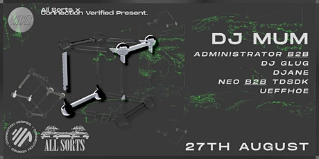 All Sorts x Connection Verified Pres. Colour tickets