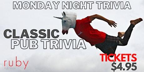 Monday Night Classic Pub Trivia tickets