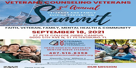 Veterans and Families Suicide Prevention Summit tickets