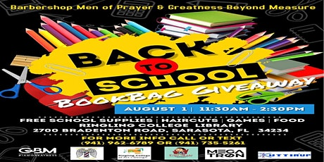 2021 Back To School Bookbag Giveaway (BMOP/GBM) tickets