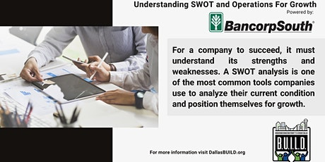 Understanding SWOT and Operations For Growth tickets