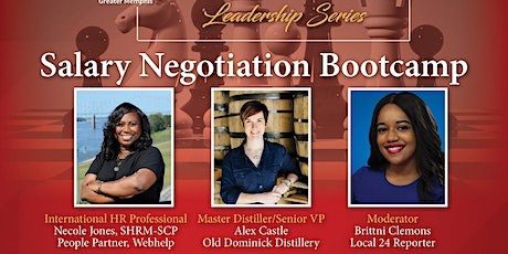 Power Women, Power Moves Leadership Series: Salary Negotiation Bootcamp tickets