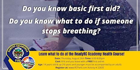 ReadyRC Academy Health Course tickets