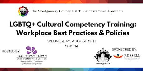 LGBTQ+ Cultural Competency Training: Workplace Best Practices & Policies tickets