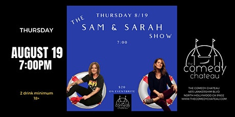 Sam and Sarah Show at The Comedy Chateau tickets