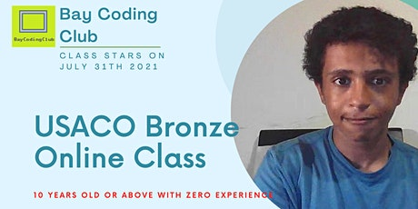 USACO Bronze Online Class: 10+ years old, 20 weeks, Price Every 4 Weeks tickets