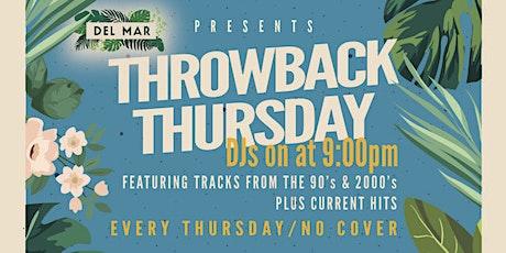 Throwback Thursdays tickets