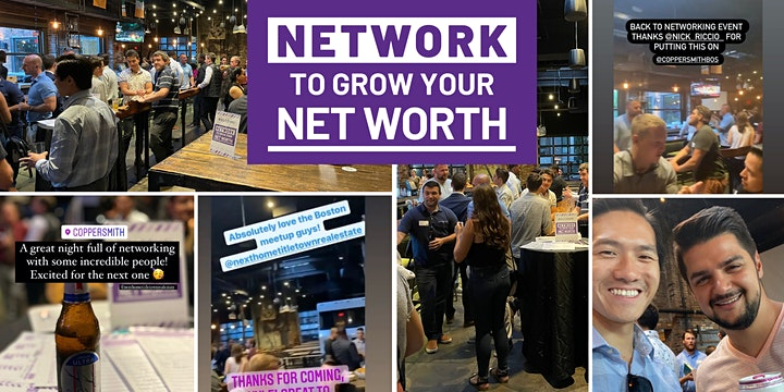 Boston - Network to Grow Your Net Worth - Real Estate Networking image