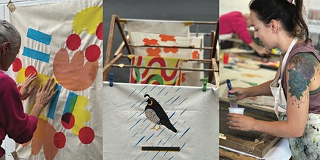Screen Printing on Fabric for Beginners - 1 Day Workshop tickets