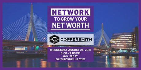 Boston - Network to Grow Your Net Worth - Real Estate Networking tickets